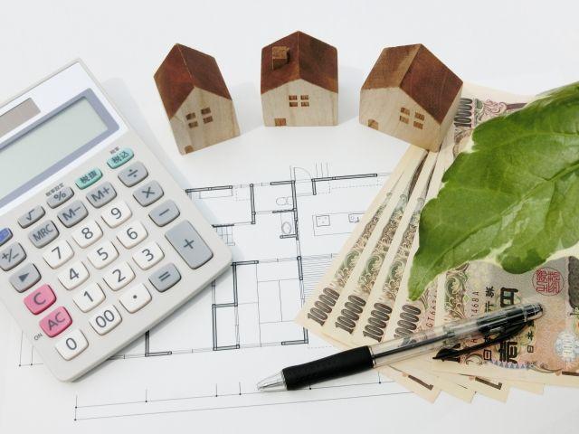 家のリノベーション費用の計算に使う電卓